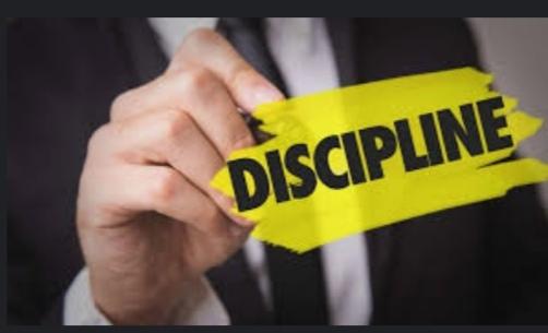 La discipline : Comment être discipliné ?
